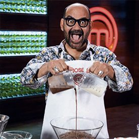 Jose Corbacho on MasterChef Celebrity 2